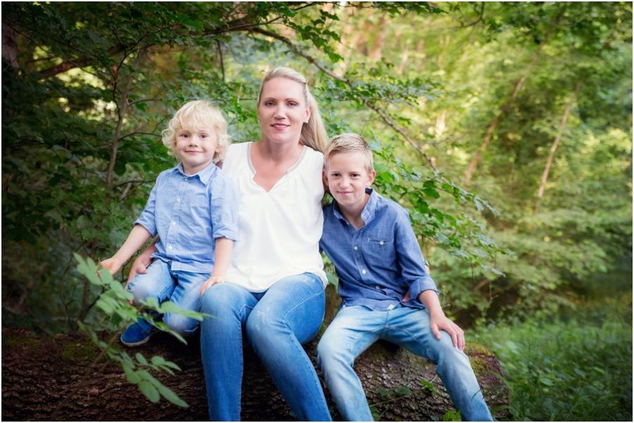 Familienfoto Frühling Rheinfelden