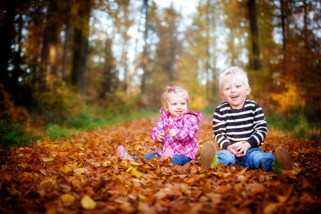 Herbstshooting Wald