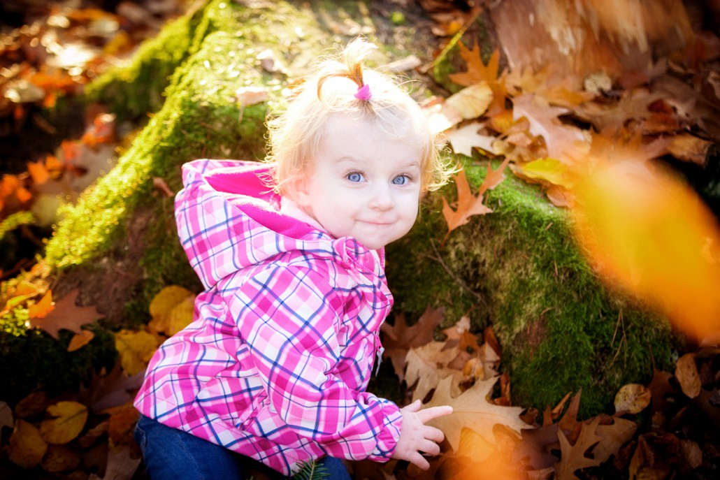 Kinderbilder im Wald