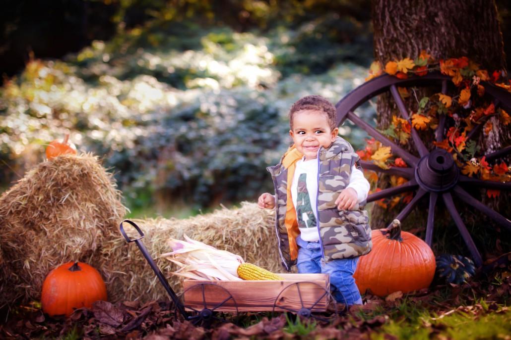 Kinderfotos Outdoorshooting Herbst in Rheinfelden