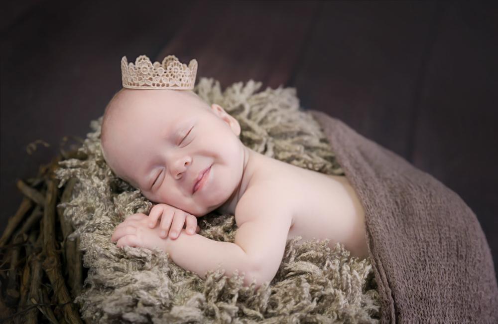 Neugeborenenfotoshooting in Aarau