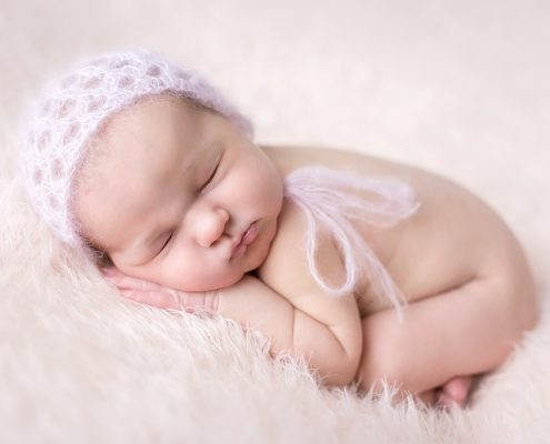 Neugeborenenfotoshooting Baby 5 Tage alt
