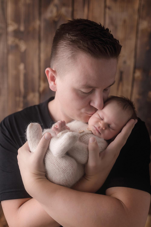 Familienfotos beim Babyfotoshooting