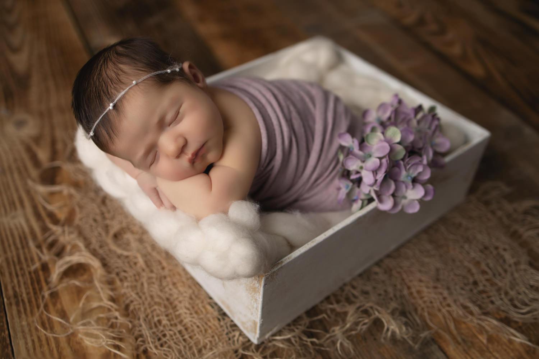 Bauchpose Babyfotoshooting
