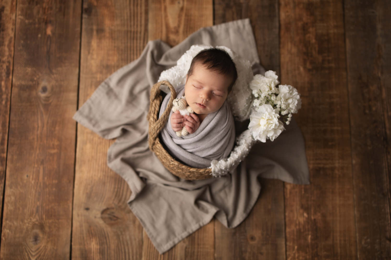 Babyfotos im Fotostudio in Rheinfelden