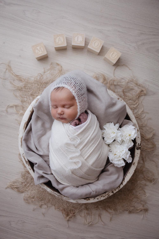 Neugeborenenshooting Homestory