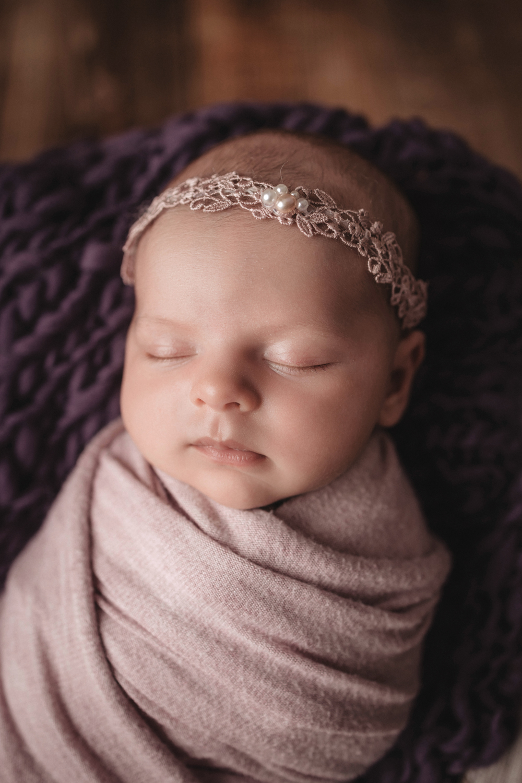 Neugeborenenfotoshooting